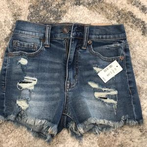 NEW with Tag Aeropostale Cheeky Jean Shorts Sz 000